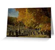 Watching over the Fallen in Fall Greeting Card
