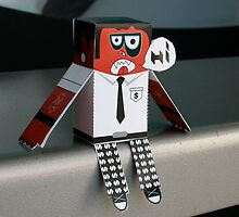 paper toy by guidocruz
