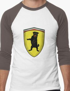 Ferrari Pug Men's Baseball ¾ T-Shirt