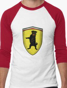 Ferrari Pug Men's Baseball ¾ T-Shirt