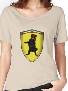 Ferrari Pug Women's Relaxed Fit T-Shirt