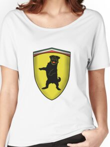Ferrari Pug Women's Relaxed Fit T-Shirt