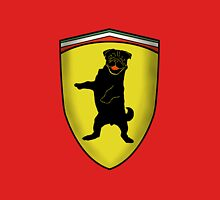 Ferrari Pug Unisex T-Shirt