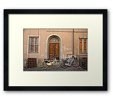 Pair of Bicycles Framed Print