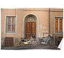 Pair of Bicycles Poster