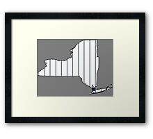 Home Sweet NY Framed Print
