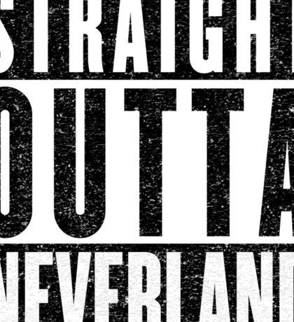 Neverland Represent! Sticker