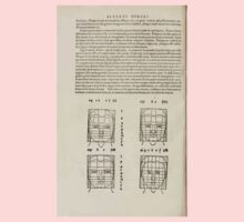 Famous Painter Parts Human Body Symmetry Four Books Geomety 1557 Albrecht Durer 0176 Heads Kids Tee