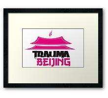 Trauma Beijing Framed Print