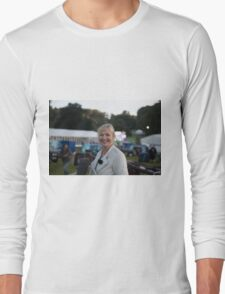 Carol Kirkwood BBC Long Sleeve T-Shirt