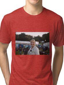 Carol Kirkwood BBC Tri-blend T-Shirt