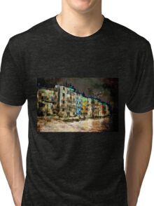 The Essence of Croatia - The Dark Side of Rovinj Tri-blend T-Shirt