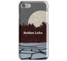 Reiden Lake (fringe) iPhone Case/Skin