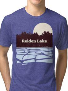 Reiden Lake (fringe) Tri-blend T-Shirt