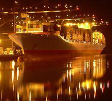 Tacoma Port by arawak