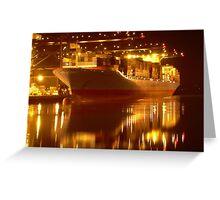 Tacoma Port Greeting Card