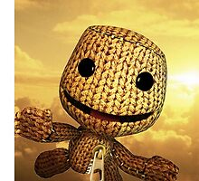 Little Big Planet Sackboy flying by jasuparri