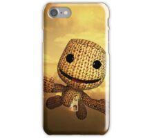 Little Big Planet Sackboy flying iPhone Case/Skin