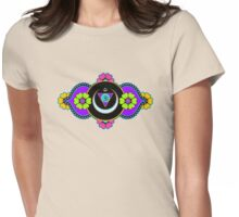 Anja Chakra Womens Fitted T-Shirt