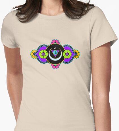 Anja Chakra Womens Fitted T-Shirt