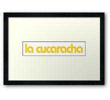 Minions - la cucaracha Framed Print