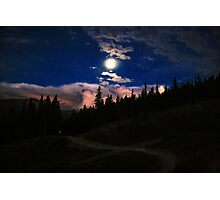 Breckenridge Sunset Photographic Print