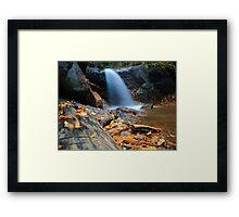 Cheyenne Canyon Cascades Framed Print