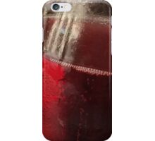 Red, red wine iPhone Case/Skin