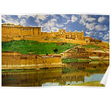 Amber Fort Poster