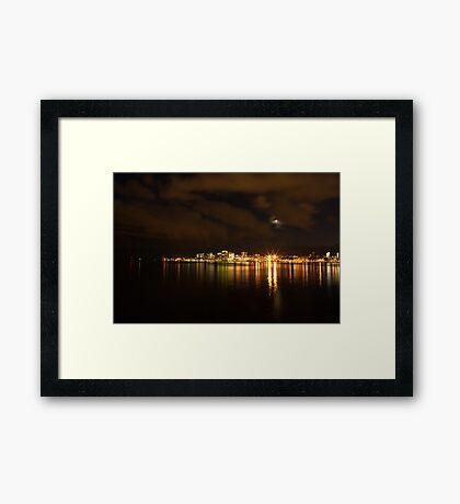 Jewels of the Halifax Night Framed Print
