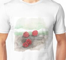 Ripe Red Radberries 5 Unisex T-Shirt