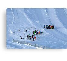 Winter on Kitzsteinhorn 86 Canvas Print