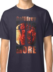 Gallifrey - No More (Black) - Simple Typography Collection Classic T-Shirt