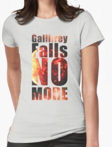 Gallifrey - No More (Black) - Simple Typography Collection T-Shirt