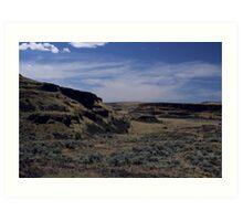 Washington Desert Land Art Print