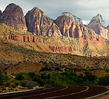 On the road to Zion by jeffrae