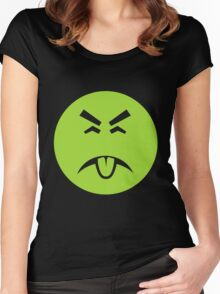 Yuck it up Women's Fitted Scoop T-Shirt
