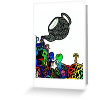 What's In Your Pot?  Greeting Card
