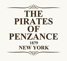 The Pirates Of Penzance 1879 New York by ixrid