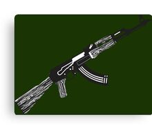 AK Rifle Canvas Print
