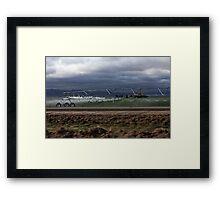 Freezing Point Framed Print