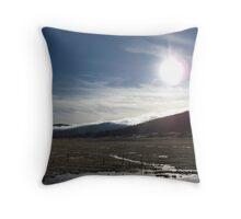 Eclipse - Julian, CA Throw Pillow
