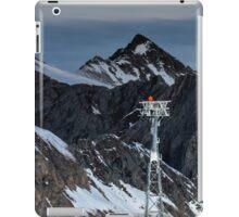 Winter on Kitzsteinhorn 91 iPad Case/Skin