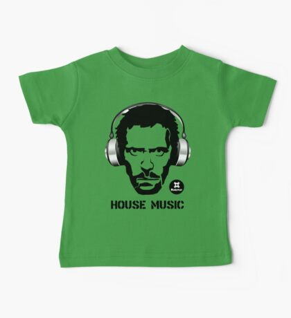 House Music Baby Tee