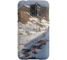 Winter on Kitzsteinhorn 94 Samsung Galaxy Case/Skin