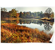 Sunrise at Meadow Lake Poster
