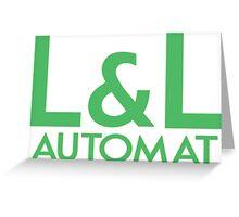 L&L Automat Greeting Card