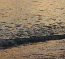 Sunset Wave Sticker