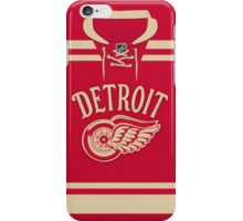 Detroit Red Wings 2014 Winter Classic Jersey iPhone Case/Skin