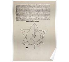 Measurement With Compass Line Leveling Albrecht Dürer or Durer 1525 0015 Spiral Poster
